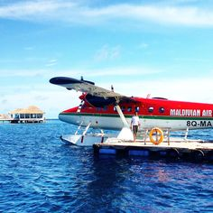 Some islands and their resorts are located so far from Male, the capital of Maldives, that you have no choice but to arrive in style - on a seaplane! #KeepCalmAndJasTravel Centara Grand Island Resort & Spa, Maldives
