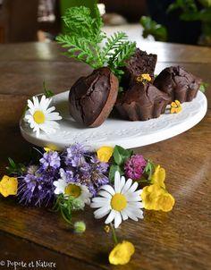 Muffins au chocolat parfumés à la tanaisie - IG bas © Popote et Nature