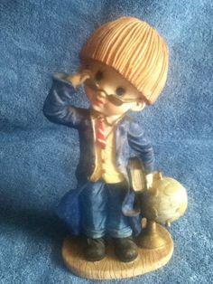 Young Man #College #Professor #School #Boy #Figurine #Collectible #giftideas #ShopSmall #SmallBiz