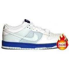 size 40 5bbdc 271f8 Mens Nike Dunk Low (White Glacier Blue-Vrsty Royal) Wholesale Nike Shoes,