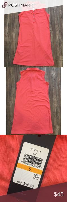 Tommy Hilfiger SALMON Tank Top Tennis Dress Tommy Hilfiger Salmon Tank Top Tennis Dress  SIZE S  This beautiful dress would be a great Spring or Summer Dress for any occasion!  You can wear it casual or dress it up! Never worn- Tag included!  Smoke Free/Pet Free home Carefully packed & quickly shipped! Tommy Hilfiger Dresses Midi