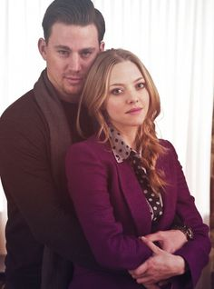 #amandaseyfried & #channingtatum The beautiful Amanda Seyfried and Channing Tatum.