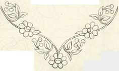 bordado alta costura Archives - My WordPress Website Hand Embroidery Patterns Flowers, Hand Embroidery Dress, Embroidery Neck Designs, Embroidery On Clothes, Embroidery Motifs, Tambour Embroidery, Silk Ribbon Embroidery, Motifs Perler, Jewelry Design Drawing