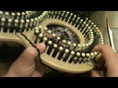 How to Loom Knit a Hat - Beginner (baby beanie) with Closed Captions CC - YouTube