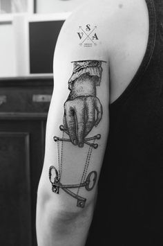 Black tattoo illustrations by Andrey Svetov