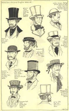 Hats, Village Hat Shop Gallery, Chapter 15 - Victorian and Second Empire