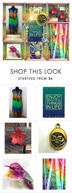 """""""Color Me Beautiful"""" by bonzoclair ❤ liked on Polyvore featuring Lumière, contest, integrityTT and EtsySpecialT"""