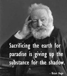 Victor Hugo on Substance