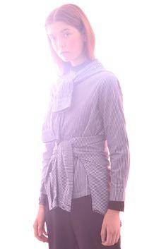 #Design #Alpha60 #Alpha60 Fashion Fashion Labels, Fashion Boutique, Ruffle Blouse, Unique, Shirts, Tops, Design, Women, Style