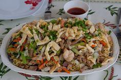 Le Chao Men de Tahiti  Le chao men est un plat typique de Tahiti, que l'on retrouve dans pratiquement tous les points de restauration. C'e...