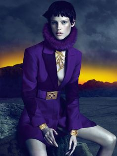 Versace Fall 2011 Ad Campaign