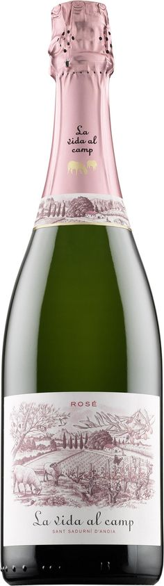 La Vida al Camp Rosé Cava Brut 2013 kuohuviini uutuus luomu 14,89 e ksml hs testivoittaja leikkisä maku rose aperitiivi suolaiset
