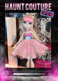 Monster Doll Gargoyle Ghoul high fashion by HauntCoutureAtelier