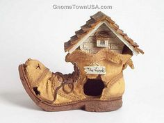 These Toad Houses are great outdoor decorations that can also be use by toads as a real home.
