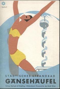 Painting and Graphics Splish Splash, Museum, Vintage Travel, Vienna, Brand Identity, Vintage Posters, Austria, Graphic Design, Illustration