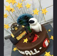 Wall E Birthday Cake Man Parties Ideas