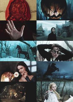 Sleepy Hollow, directed by Tim Burton, Cinematography by Emmanuel Lubezki
