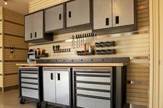 9 formas de organizar los estantes del garaje