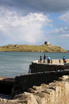 Uninhabited except for a herd of goats and a colony of seals, Dalkey Island is accessible by boat and an ideal spot for fishing