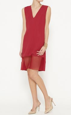 Thakoon Red Dress | VAUNTE