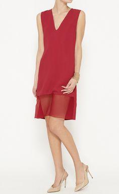 Thakoon Red Dress   VAUNTE