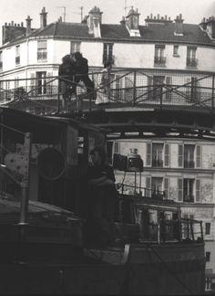 Quai de Jemmapes Paris 1970  Photo: Robert Doisneau