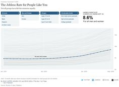 The Jobless Rate for People Like You by Shan Carter, Amanda Cox, and Kevin Quealy, NY Times