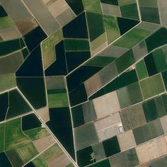 Andalucía / Spain - Utrera, Sevilla, Spain.  Earth Patterns 37.092785, -5.921286