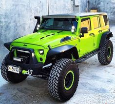 Love lime green