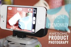 iPhone + PicMonkey = Awesome Product Photography « by @Moxie Pear for oh my! handmade goodness