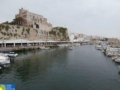Hafen von Ciutadella, Menorca, Balearen, Spanien