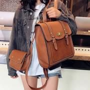 2019 NEW Fashion Backpack Set Women Backpack PU Leather School Bag Women Casual Style Paper Women Backpacks Shoulder Bag (yellow brown), Fashion Bags, New Fashion, Fashion Backpack, Fashion Accessories, Fashion Jewellery, Backpack Bags, Leather Backpack, Pu Leather, Leather Bags