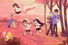 Love this art Clow Reed, Manga Anime, Anime Art, Card Captor, Otaku, Clear Card, Manga Artist, Cardcaptor Sakura, Magical Girl