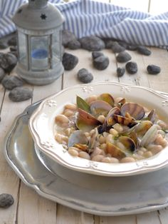 White beans with clams » The Homestead Survival