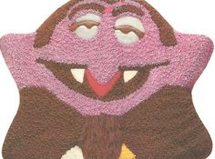 Wilton The Count Halloween Dracula Vampire Cake Pan (502-7431, 1977) Retired Jim Henson Sesame Street Muppets Wilton