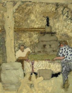 PIERRE BONNARD / Le Pressoir Au Grand-Lemps