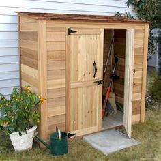 Nice 55 Nice Garden Shed Storage Ideas on a Budget https://lovelyving.com/2017/12/01/55-nice-garden-shed-storage-ideas-budget/ #GoodGardens