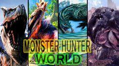 ✅MONSTER HUNTER WORLD : New Open World Gameplay - All Monsters Gameplay ...