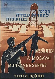 Jewish Colonization/Zionist Kibbutzim/Israeli Settlements | The Palestine Poster Project Archives