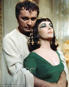 Cleopatra (1963): Elizabeth Taylor and Richard Burton. The story is that they met on Cleopatra and fell in love.