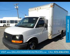 2004 CHEVROLET G3500  14 FOOT BOX TRUCK For Sale Near Dallas, TX, http://www.itrucksale.com/chevrolet-g3500-used-irving-tx_vid_20693_rf_pi.html