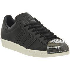 various colors df4bb 6036b Adidas Superstar Metal Toe W Black White Pewter Metal Toe Exclusive -  Sneaker damen