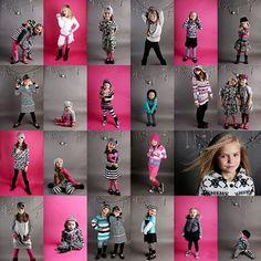 Children's poses