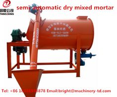 dry putty powder mixer can be used to make all kinds of dry powder products, such as putty powder, dry powder coating, masonry mortar, plastering mortar, thermal insulation mortar, decorative mortar and other dry powder mortar.