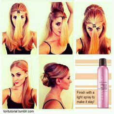 Cute hair idea from Mark - #Avon #AvonHair For more info on this great affordable product: http://erinwilson.avonrepresentative.com/