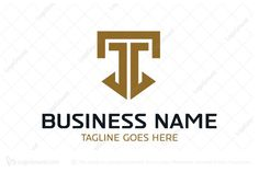 Logo for sale: Unique Letter T Logo. Unique Letter T Logo. The symbol itself will looks nice as social media avatar and website or mobile icon. Alphabet T strength masculine simple modern buy purchase sell on sale sold product business brand design graphic unique recognized professional software apps app applications application logo logos consultant consulting consultation investment security shield secure capital protection guarding firewall system stability ttt lawyer attorney office law Corporate Insurance, Protection Logo, Security Logo, Software Apps, Mobile Icon, Letter T, Unique Logo, Make Design, Cool Names