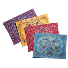 Mystic flower placemats from Avon are so beautiful! The colors and prints are amazing! www.youravon.com/carolynshields