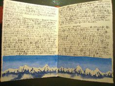 Travel Journal Himalaya by noriko.stardust, via Flickr