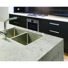 Helix Example - Silestone 2 in. Quartz Countertop Sample in Helix-SS-Q0460 - The Home Depot