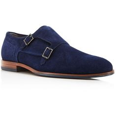 fdfc318f7df Hugo Modemok Double Monk Strap Shoes ( 295) ❤ liked on Polyvore featuring  men s…